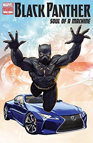 Black Panther: Soul Of A Machine #3 by Ariel Olivetti, Chuck Brown, J.L. Giles