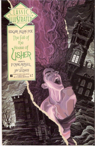 The Fall of the House of Usher (Classics Illustrated, #14) by David Galloway, P. Craig Russell, Edgar Allan Poe, Jay Geldhof