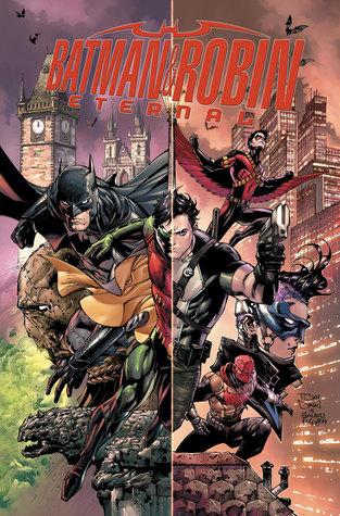 Batman & Robin: Eternal, Volume 1 by Steve Orlando, Scott Snyder, Jackson Lanzing, Genevieve Valentine, Ed Brisson, James Tynion IV, Tim Seeley, Collin Kelley