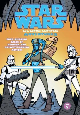 Star Wars: Clone Wars Adventures, Vol. 5 by Justin Lambros, Matt Fillbach, Michael David Thomas, Shawn Fillbach, W. Haden Blackman, Matt Jacobs, Stewart McKenney, Dan Jackson, Chris Avellone, Lee Evandon, David Nestelle