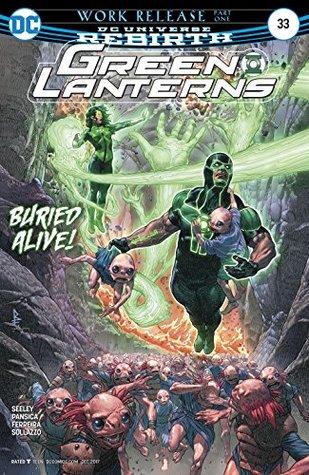 Green Lanterns #33 by Alex Sollazzo, Eduardo Pansica, Tomeu Morey, Julio Ferreira, Riccardo Federici, Alan Sollazzo, Tim Seeley