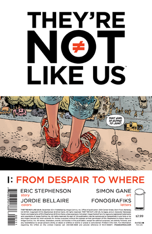 They're Not Like Us #1 by Simon Gane, Eric Stephenson, Jordie Bellaire