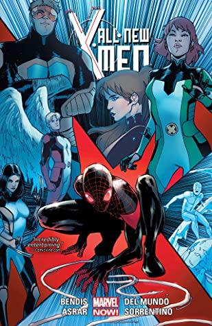 All-New X-Men: Deluxe Edition, Book 4 by Brian Michael Bendis, Cory Petit, Mahmud Asrar, Stuart Immonen, Marte Gracia, Andrea Sorrentino, Wade Von Grawbadger, Mike del Mundo