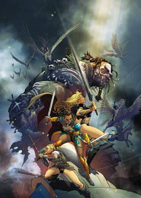 The Odyssey of the Amazons by Kevin Grevioux