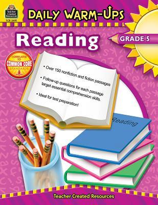 Daily Warm-Ups: Reading, Grade 5 by Sarah Clark