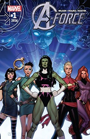 A-Force (2016) #1 by Jorge Molina, G. Willow Wilson