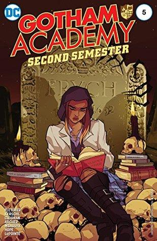 Gotham Academy: Second Semester #5 by Sandra Hope, Karl Kerschl, Brenden Fletcher, MSASSYK, Becky Cloonan, Adam Archer
