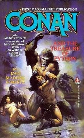 Conan and the Treasure of Python by John Maddox Roberts