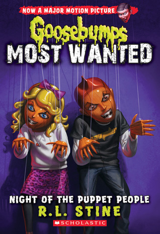 Night of the Puppet People by R.L. Stine