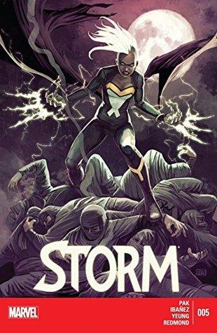 Storm #5 by Greg Pak, Víctor Ibáñez, Stephanie Hans