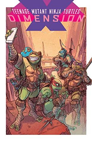 Teenage Mutant Ninja Turtles: Dimension X by Damian Couceiro, Ryan Ferrier, Paul Allor, Michael Dialynas, Ulises Fariñas