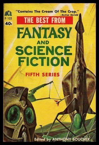 The Best from Fantasy and Science Fiction 5 by Anthony Boucher, J. Francis McComas