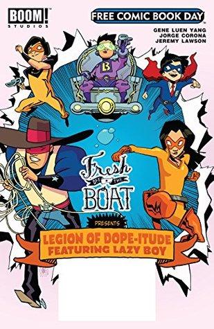 Free Comic Book Day 2017 - Fresh Off the Boat (BOOM! FCBD 2017: Fresh Off the Boat) by Jorge Corona, Gene Luen Yang