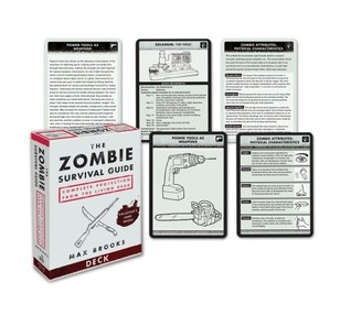 The Zombie Survival Guide Deck: Complete Protection from the Living Dead by Max Brooks