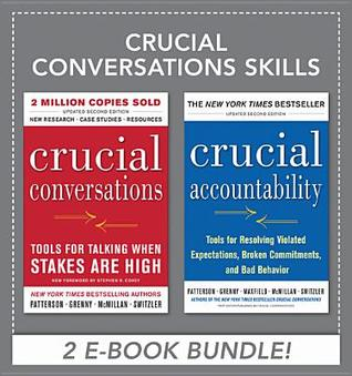 Crucial Conversations Skills (Crucial Conversations & Crucial Accountability) by Kerry Patterson, Joseph Grenny