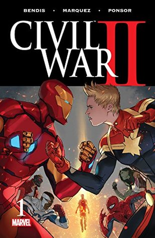 Civil War II #1 by David Marquez, Brian Michael Bendis, Marko Djurdjevic