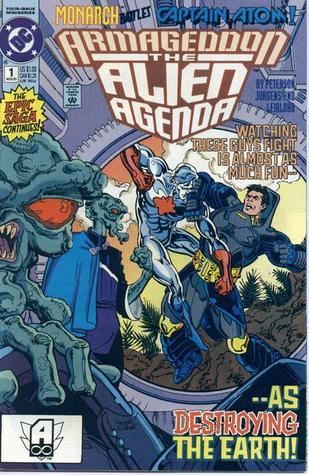 Armageddon: The Alien Agenda by Alan Weiss, Jonathan Peterson, Steve Leialoha, Joe Rubenstein, Steve Mitchell, Dick Giordano, Dan Jurgens, Michael Netzer
