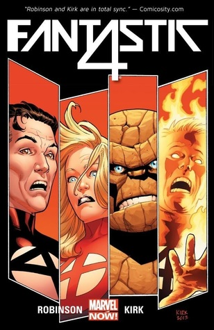 Fantastic Four, Volume 1: The Fall of the Fantastic Four by Derliz Santacruz, Marc Laming, Leonard Kirk, James Robinson, Tom Grummett