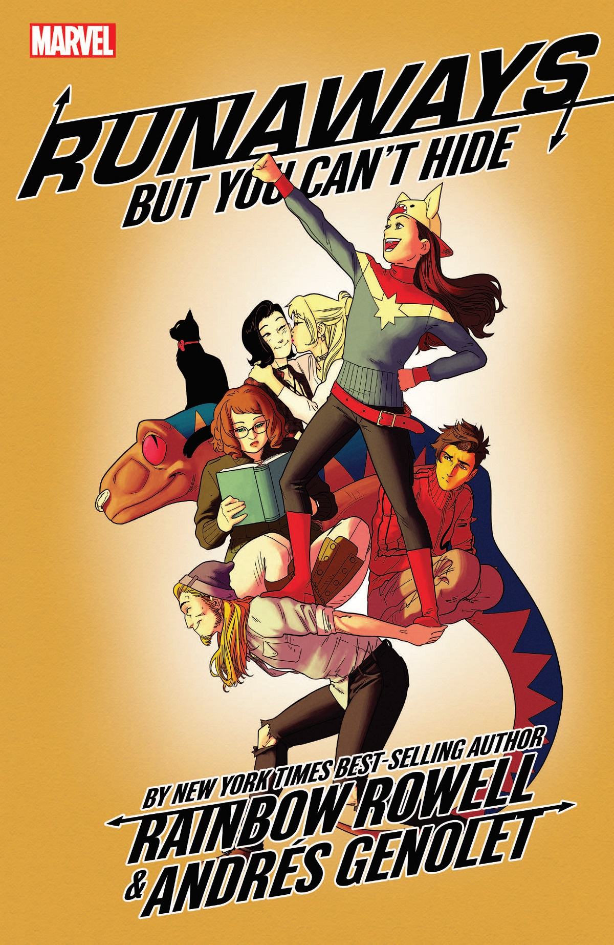 Runaways, Vol. 4: But You Can't Hide by Andres Genolet, Rainbow Rowell, Kris Anka