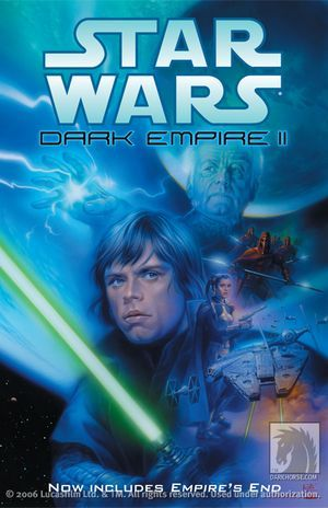 Dark Empire II by Tom Veitch, Cam Kennedy