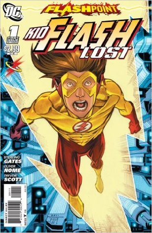 Flashpoint: Kid Flash Lost #1 by Sterling Gates, Oliver Nome