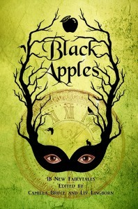 Black Apples by Alex Petri, David Turnbull, Nadia Bulkin, Karen Heuler, Alison Littlewood, Ephiny Gale, Nicki Vardon, Kate O'Connor, Rose Williamson, Camilla Bruce, Pat R. Steiner, Molly Pinto Madigan, Martine Helene Svanevik, Liv Lingborn, Angela Rega, Sarah L. Byrne, Natalia Theodoridou, Maigen Turner, Elin Olausson, Caren Gussoff