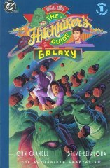 Douglas Adams' The Hitchhiker's Guide to the Galaxy, Book 1 of 3 by Douglas Adams, Steve Leialoha, John Carnell