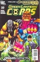 Green Lantern Corps #33 by Peter J. Tomasi