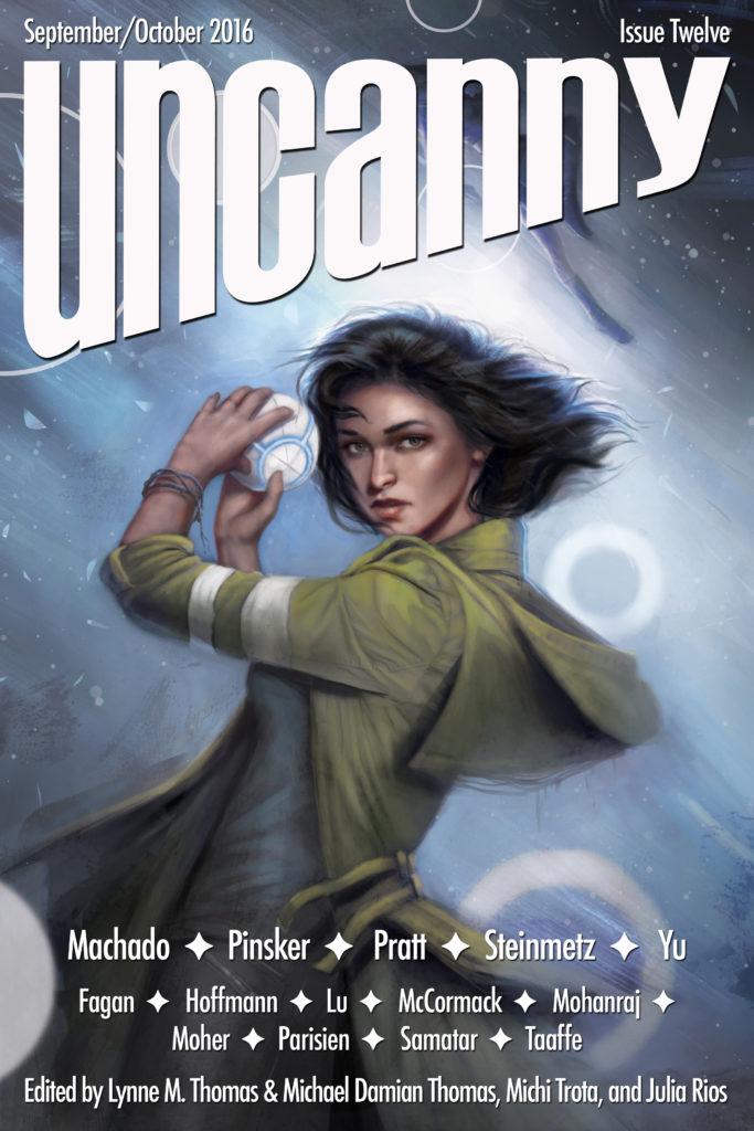 Uncanny Magazine Issue 12: September/October 2016 by Julia Rios, Michael Damian Thomas, Lynne M. Thomas, Michi Trota