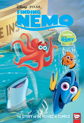 Disney/Pixar Finding Nemo and Finding Dory: The Story of the Movies in Comics by Alessandro Ferrari, Charles Bazaldua