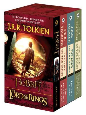 J.R.R. Tolkien 4-Book Boxed Set: The Hobbit and the Lord of the Rings: The Hobbit, the Fellowship of the Ring, the Two Towers, the Return of the King by J.R.R. Tolkien