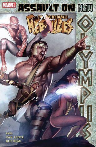 The Incredible Hercules: Assault on New Olympus by Greg Pak, Rodney Buchemi, Fred Van Lente