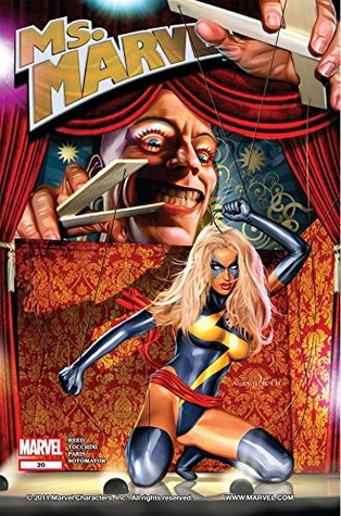 Ms. Marvel #20 by Dave Sharpe, Chris Sotomayor, Roland Paris, Greg Tocchini, Greg Horn, Brian Reed