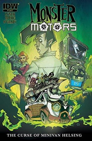 Monster Motors: The Curse of Minivan Helsing #1 by Brian Lynch, Nick Roche