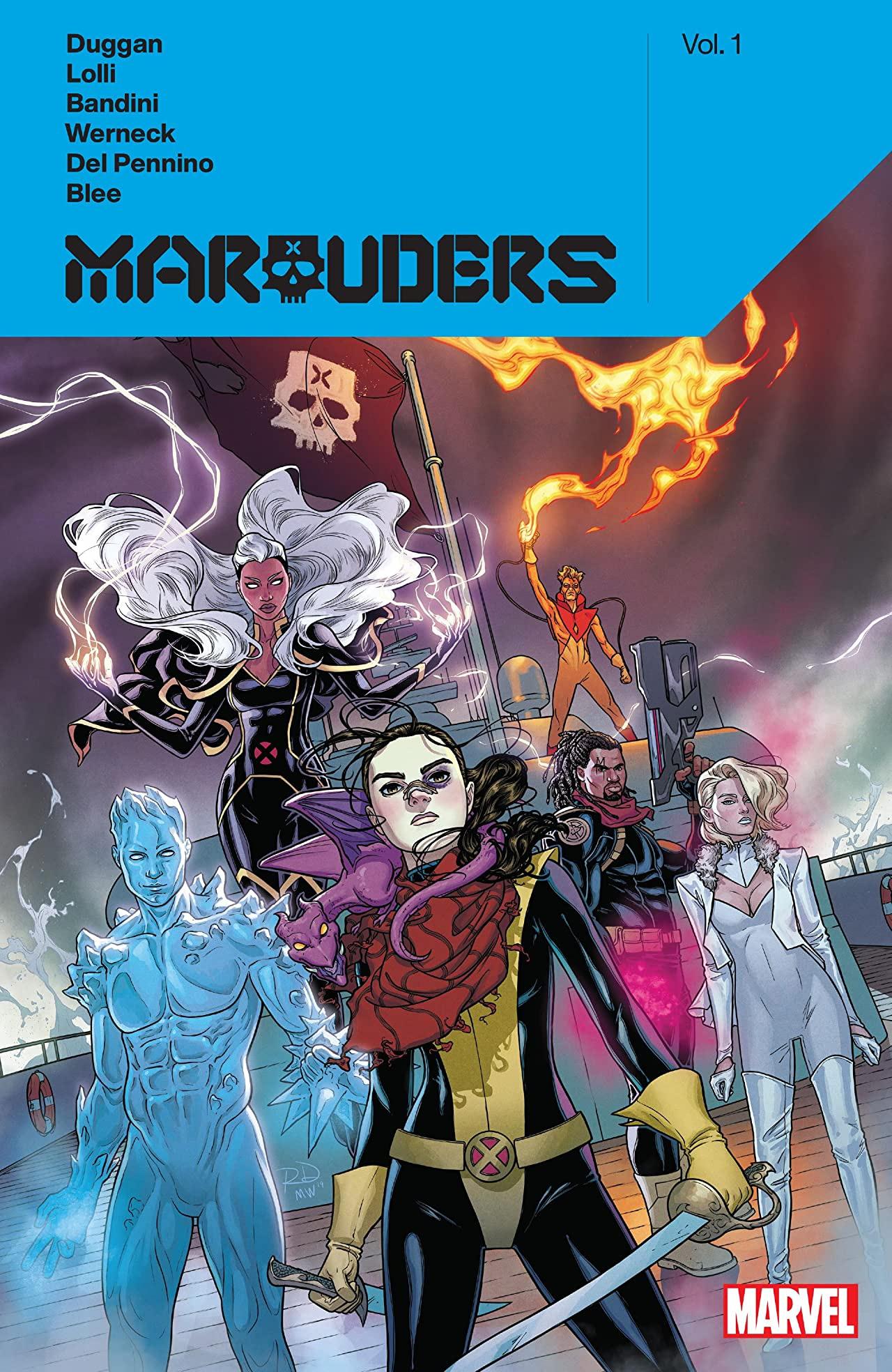 Marauders by Gerry Duggan, Vol. 1 by Mario Del Pennino, Matteo Lolli, Federico Blee, Erick Arciniega, Michele Bandini, Lucas Werneck, Gerry Duggan