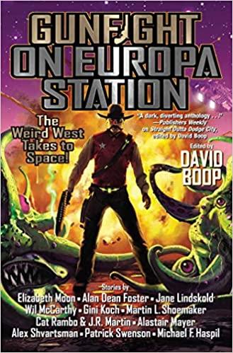 Gunfight on Europa Station by David Boop