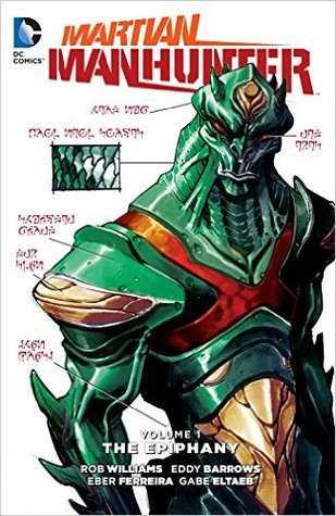 Martian Manhunter, Volume 1: The Epiphany by Eddy Barrows, Diogenes Neves, Eber Ferreira, Marc Deering, Gabe Eltaeb, Rob Williams, Tom Napolitano