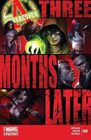 Avengers Undercover #8 by Dennis Hopeless, Francesco Mattina, Tigh Walker
