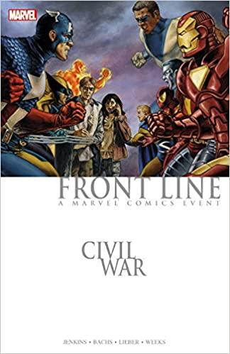 Civil War: Front Line #1 by Steve Leiber, Paul Jenkins, Ramon Bachs