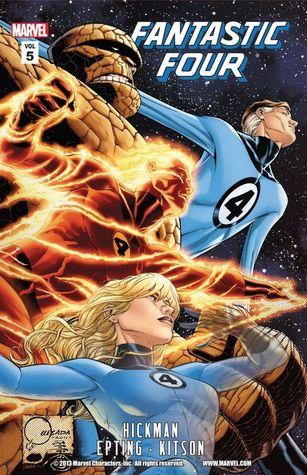 Fantastic Four, Volume 5 by Ming Doyle, Steve Epting, Carmine Di Giandomenico, Barry Kitson, Jonathan Hickman, Leinil Francis Yu, Farel Dalrymple