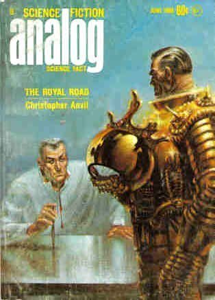 Analog Science Fiction and Fact, June 1968 by Poul Anderson, Christopher Anvil, Ben Bova, Rob Chilson, John W. Campbell Jr., Verge Foray