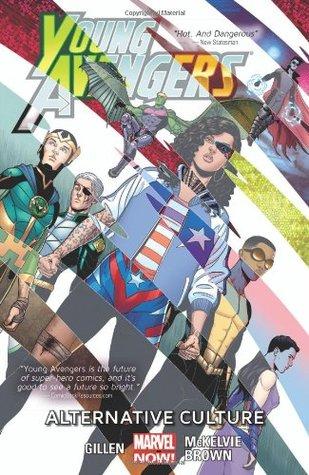 Young Avengers, Volume 2: Alternative Culture by Jamie McKelvie, Matthew Wilson, Kieron Gillen, Kate Brown