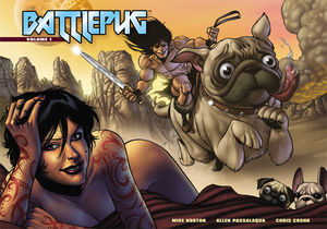 Battlepug: Volume 1 by Mike Norton, Skottie Young