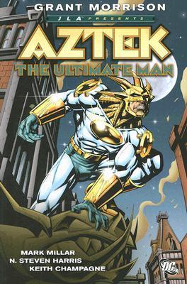JLA Presents: Aztek: The Ultimate Man by Howard Porter, Chris Eliopoulos, Grant Morrison, Mike Danza, N. Steven Harras, Keith Champagne, John Dell, Mark Millar