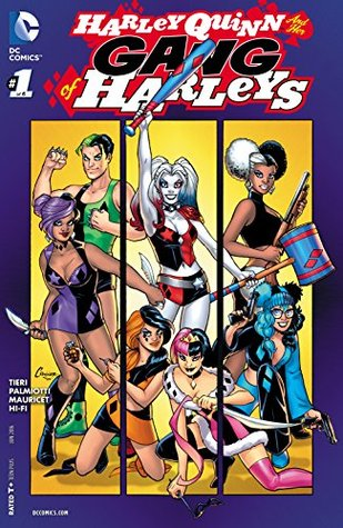 Harley Quinn and Her Gang of Harleys #1 by Jimmy Palmiotti, Frank Tieri, Alain Mauricet