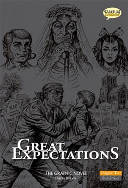 Great Expectations: The Graphic Novel by Jen Green, Jim Campbell, Jason Cardy, Charles Dickens, John Stokes