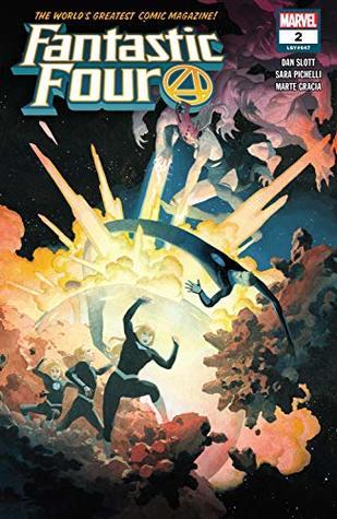 Fantastic Four (2018-) #2 by Dan Slott, Sara Pichelli, Esad Ribić