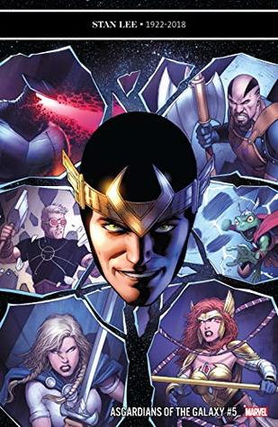 Asgardians of the Galaxy (2018-) #5 by Matteo Lolli, Luca Maresca, Jason Keith, Stephanie Hans, Cullen Bunn, Dale Keown