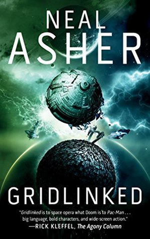 Gridlinked: The First Agent Cormac Novel by Neal Asher