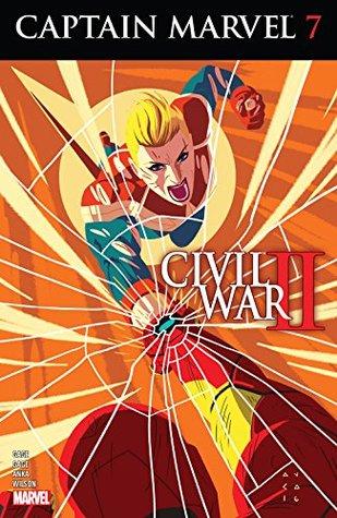 Captain Marvel #7 by Christos Gage, Marco Failla, Kris Anka, Ruth Gage